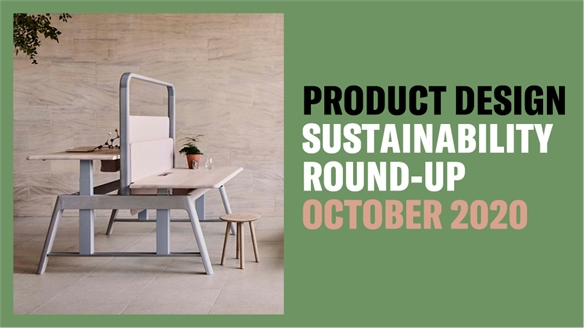 Product Design Sustainability Round-Up: October
