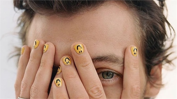 Male Manicures Go Mainstream