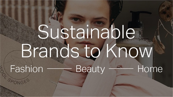 Sustainable Brands to Know