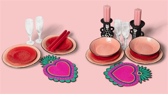 Rentable Tableware Spruces Up At-Home Dinners
