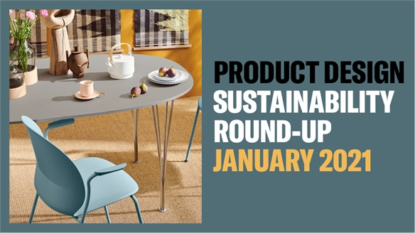 Product Design Sustainability Round-Up: January