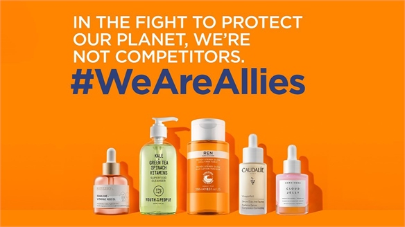 Rival Skincare Giants Unite to Tackle Climate Crisis