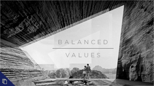 Balanced Values